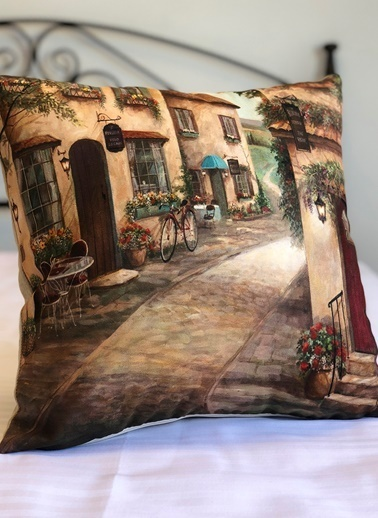 Alla Turca Dekoratif Yastık Kılıfı Renkli